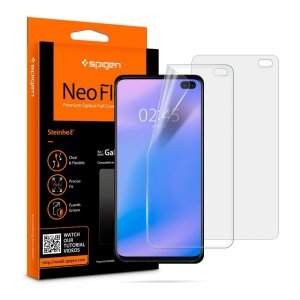 2x Folia Spigen Neo Flex HD Samsung Galaxy S10 Plus