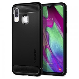 Etui Spigen Rugged Armor Samsung Galaxy A40 Black