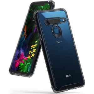 Etui Ringke Fusion LG G8 ThinQ Smoke Black