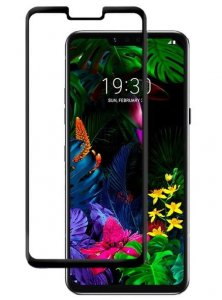 Szkło hartowane Home Screen Glass LG G8 ThinQ Full Cover Black