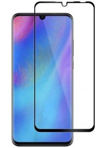 Szkło hartowane Home Screen Glass Huawei P30 Lite Full Cover Black