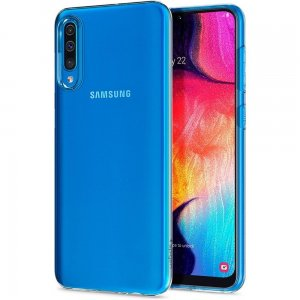 Etui Spigen Liquid Crystal Samsung Galaxy A50 Clear