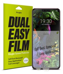 Folia Ringke Dual Easy Full Cover LG G8 ThinQ Case Friendly