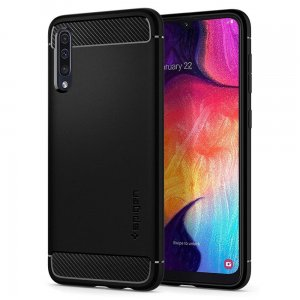 Etui Spigen Rugged Armor Samsung Galaxy A50 Black