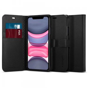 Etui Spigen Wallet S Apple iPhone 11 Black