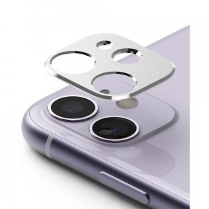 Nakładka Ringke Camera Styling Apple iPhone 11 Silver