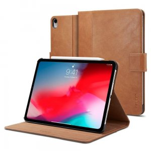 Etui Spigen Stand Folio Apple iPad Pro 11 2018 Brown