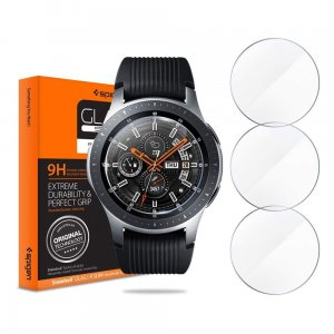 Szkło hartowane Spigen GLAS.tR Slim Galaxy Watch 46mm [3 PACK]