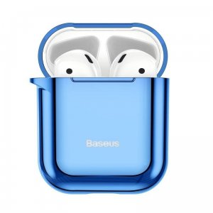 Etui Baseus Shining Hook Case do Apple AirPods (niebieskie)