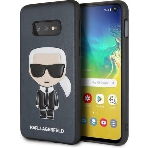 Karl Lagerfeld - Iconic Karl Embossed S10e G970 hardcase granatowy/navy
