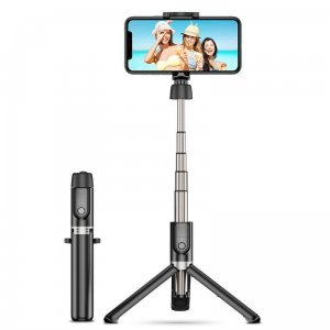 ESR Wireless Selfie Stick Tripod Black