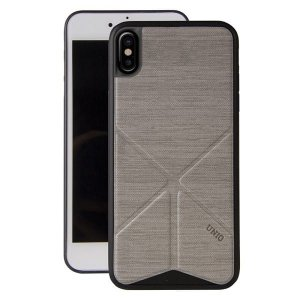 UNIQ etui Transforma Ligne iPhone X/Xs szary/ash grey