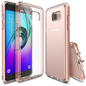 Etui Ringke Fusion Samsung Galaxy A3 2016 Rose Gold Crystal - Outlet