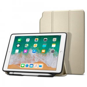 Etui Spigen Smart Fold 2 Apple iPad 9.7 2017/2018 Gold - Outlet