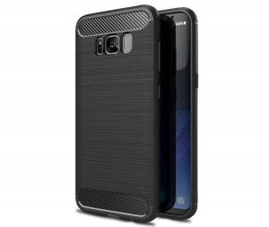 Etui HS Case SOLID TPU Samsung Galaxy S8 Plus Black