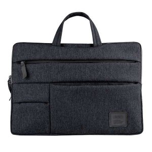 "UNIQ torba Cavalier laptop Sleeve 15"" czarny/charcoal black"