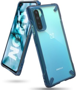 Etui Ringke Fusion-X OnePlus Nord Space Blue