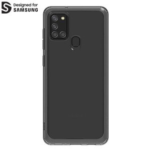 Etui Araree Samsung Galaxy A21s GP-FPA217KD czarny/black Clear Cover