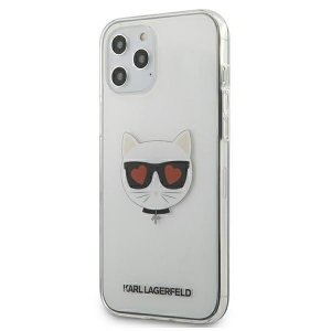 Etui Karl Lagerfeld KLHCP12LCLTR Apple iPhone 12 Pro Max hardcase Transparent Choupette