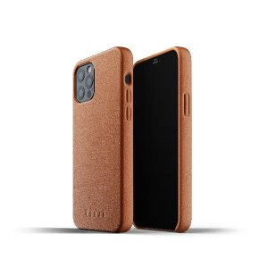 Etui Mujjo Full Leather Case Apple iPhone 12 Pro Max (brązowe)