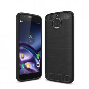Etui HS Case SOLID TPU Moto G5S Plus Black