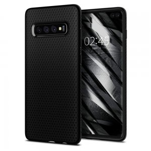 Etui Spigen Liquid Air Samsung Galaxy S10 Plus Matte Black