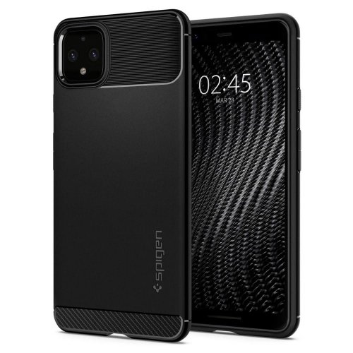 Etui Spigen Rugged Armor Google Pixel 4 XL Black