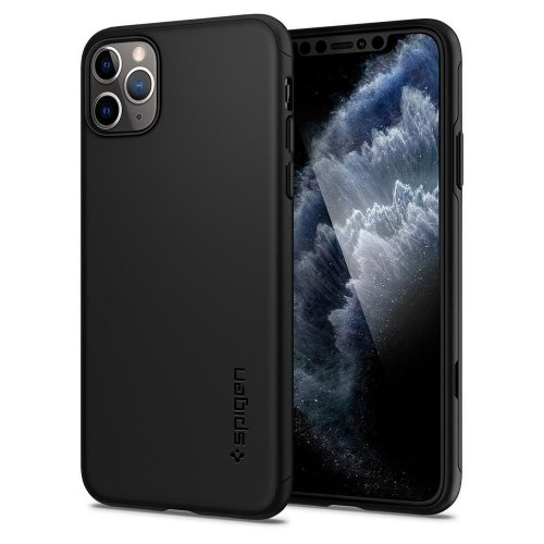 Etui Spigen Thin Fit 360 Apple iPhone 11 Pro Black