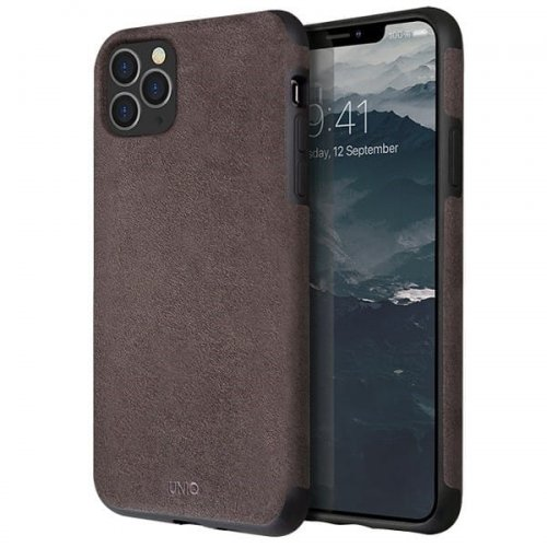 UNIQ etui Sueve iPhone 11 Pro Max taupe warm grey