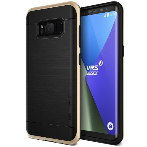 Etui VRS Design High Pro Shield Galaxy S8 Plus Shine Gold