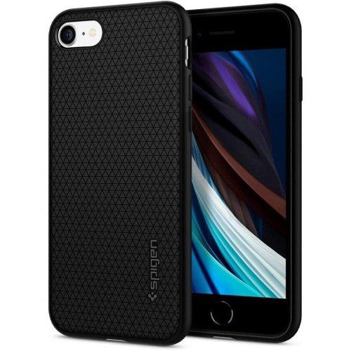 Etui Spigen Liquid Air Apple iPhone SE 2020/8/7 Black