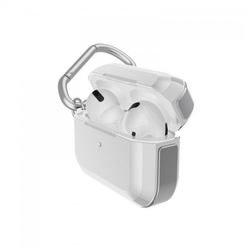Pancerne etui X-Doria Defense Trek Apple AirPods Pro (Silver)