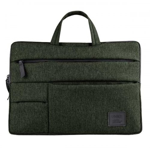 "UNIQ torba Cavalier laptop Sleeve 15"" zielony/khaki green"