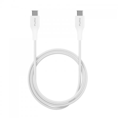Kabel PURO Fast Charging Plain Type-C Cable, 2A, 60W, 2m (biały)