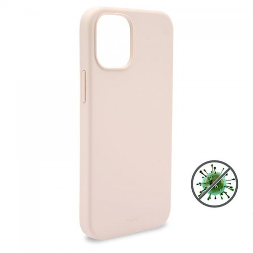 Etui PURO ICON Anti-Microbial Cover Apple iPhone 12 Pro Max (różowy)