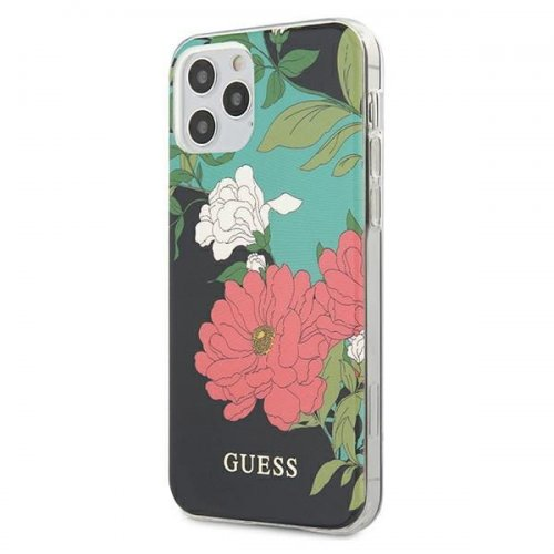 Etui Guess GUHCP12LIMLFL01 Apple iPhone 12 Pro Max czarny/black N°1 Flower Collection