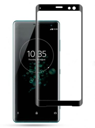 Szkło hartowane Home Screen Glass Sony Xperia XZ3 3D Black