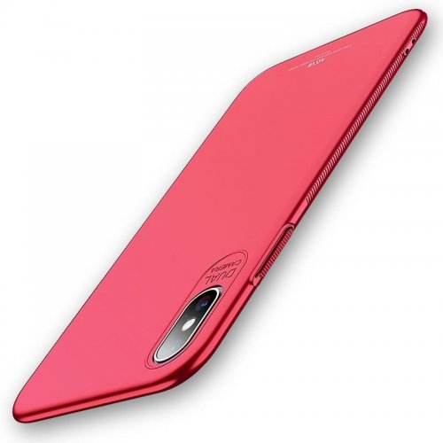 Etui MSVII iPhone XS Max 6.5 Red