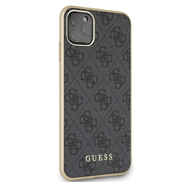 Etui Guess GUHCN65G4GG iPhone 11 Pro Max szary/grey hard case 4G Collection.